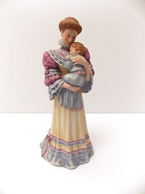 """1986 Lenox Figurine """"cherished Moments"""" The Mother And Child Collection-No Box"""