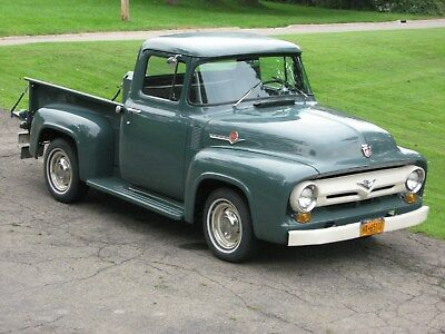 1956 Ford F-100 baseline F-100 Nicely done 56' Ford F-100