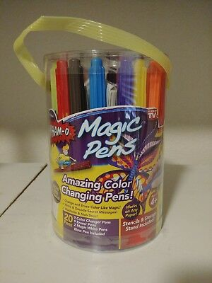 Wham O Magic Pens Color Changing Pens As Seen On Tv Brand New