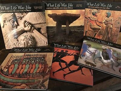 What Life Was Like Time Books Lot of 6 Hardcover w/ Dust Jackets