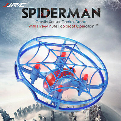 JJRC H64 Spiderman RC Drone One Hand Remote Control G-Sensor Quadcopter 3D Flips