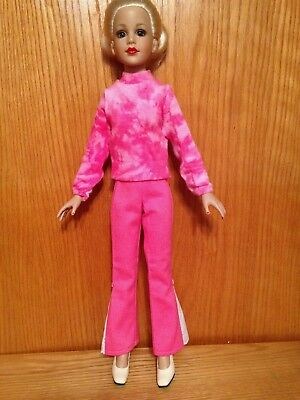 """Dale Rae Designs Pink Sweater and Pants Set for 18"""" Kitty Collier"""