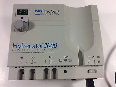 ConMed Hyfrecator 2000 Electrosurgical (7-900-115) Unit Only-DG