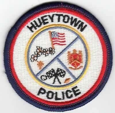 HUEYTOWN Police patch - ALABAMA