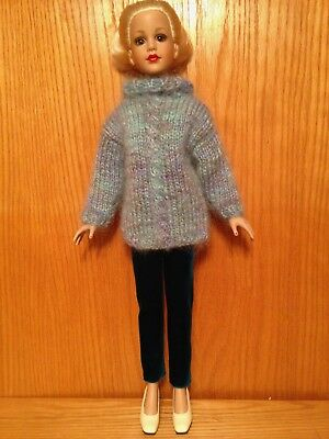 "Dale Rae Designs Mohair Sweater and Pants Set for 18"" Kitty Collier"