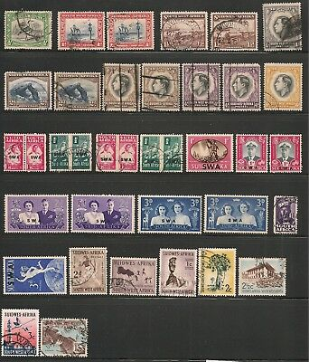 South West Africa (1931-70s) Mint/Used