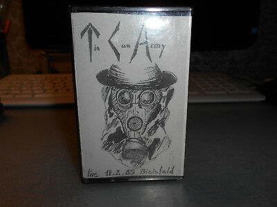 Tin Can Army ++ Live 85 Bielefeld ++ Tape ++ Musikkassette ++ Punk ++