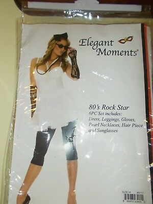 Halloween 80's Rock Star Womens Size Medium