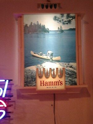 Hamms Beer Light Up Sign beautiful condition