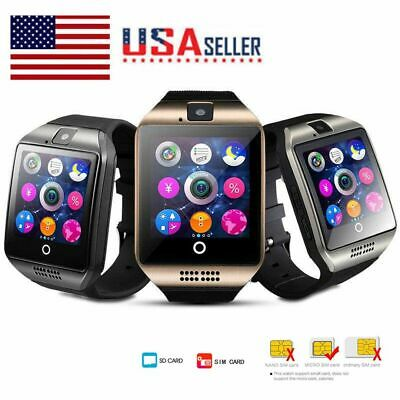 Bluetooth SmartWatch Touch Screen Wrist Watch for Android Phones Men Women Gift