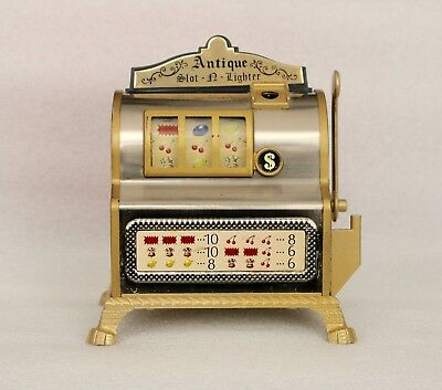 Vintage Slot Machine Table  Lighter Slot-a-lighter WACO Made Japan
