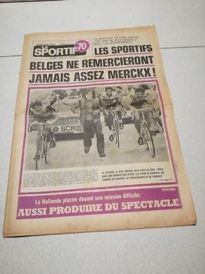 Cyclisme-Wielrennen-Ciclismo -4 Le Sportif 70 - Tour D'italie 1974 - Eddy Merckx