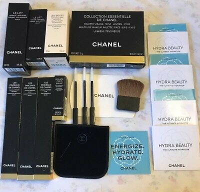 EMPTY Chanel Boxes + Brushes