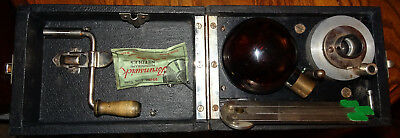 Camera Box Phonograph, 78 rpm, Complete & Works Well. Celluliod Head