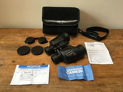 Olympus EXPS 1, 10 X 42 Binoculars & Acccessories-A1 Condition!