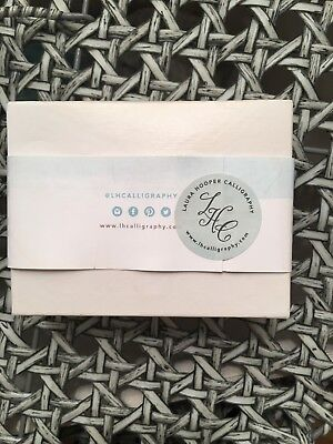 Laura Hooper Calligraphy Wedding White Ink And Nibs Kit