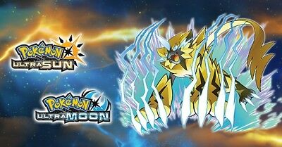 Zeraora Code Dlc - Ultra Sun & Moon - Pokemon Event 2018 (Pal Version)