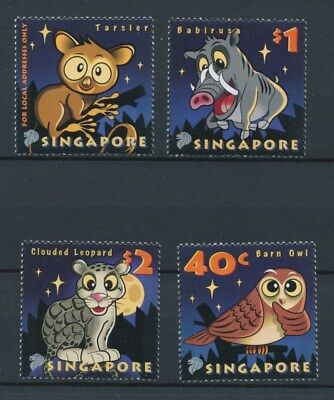 [92407] Singapore Fauna good set Very Fine MNH stamps