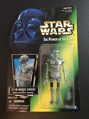 Star Wars Power Of The Force 2-1B Medical Droid