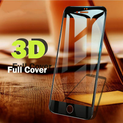 3D Carbon Fiber Full cover Glass Screen Protector for iPhone 6 6S 7 8 X XS Plus