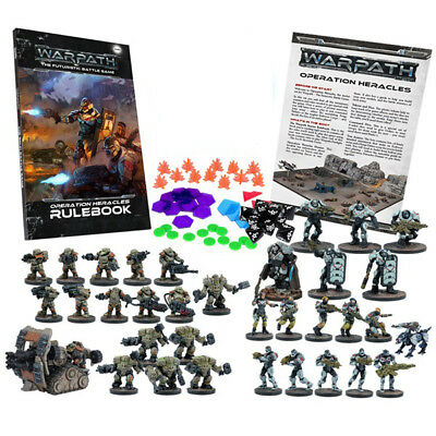 Warpath: Operation Heracles Two Player Starter Set