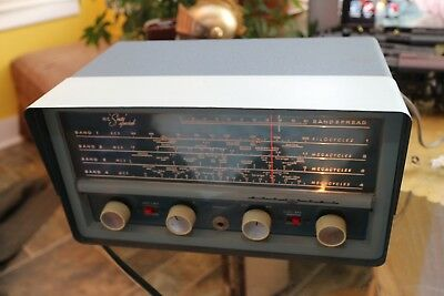 National NC-60 Sixty Special Ham Radio Short Wave Receiver Tube Vintage
