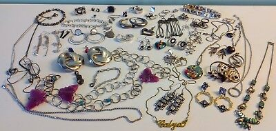 Sterling Silver Jewelry Mixed Lot # 3 239+grams!