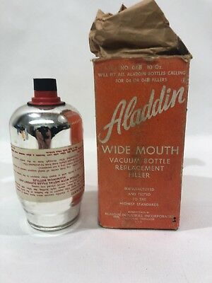 NOS Vintage Aladdin Wide Mouth Vacuum Bottle Replacement Filter