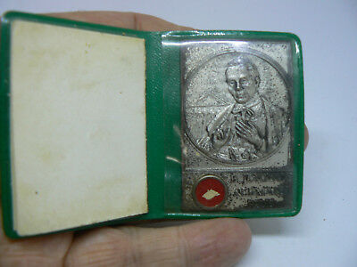 A Roman Catholic Relic Pocket Shrine Of Blessed John Neumann