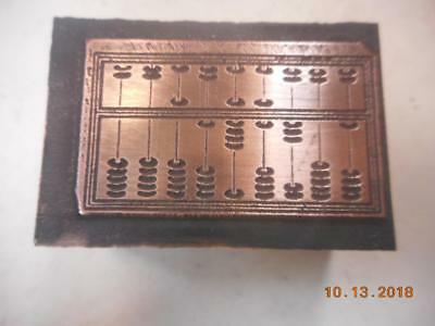 Printing Letterpress Printer Block, Decorative Abacus, Printer Cut