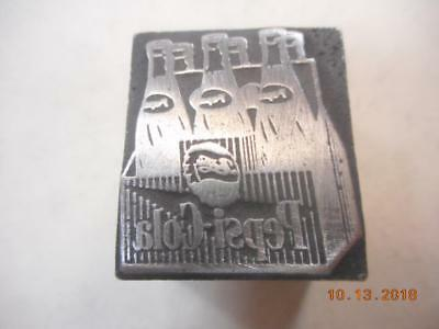 Printing Letterpress Printer Block, Decorative Case Of Pepsi Cola, Printer Cut