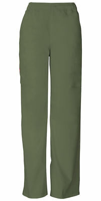 NEW Scrubs Dickies Men's Zip Fly Pull-On Pant 81006 OLWZ Olive Free Shipping