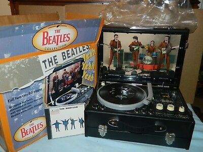 The Beatles Pick-Up CD Player/Radio  - Collector Limited Edition Copy Excel Cond