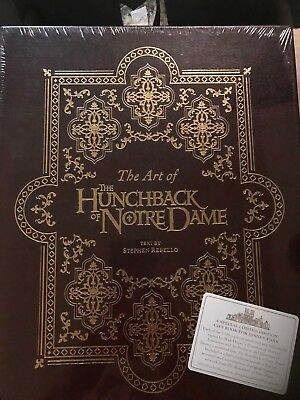 Disney The Art of The Hunchback of Notre Dame Signed Collector's Book