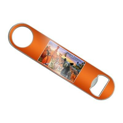 Bryce Canyon National Park Utah Animals Stainless Steel Flat Speed Bottle Opener