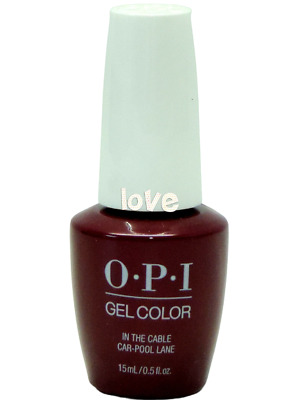 OPI GelColor New Gel Nail Polish GC F62- In The Cable Car-Pool Lane