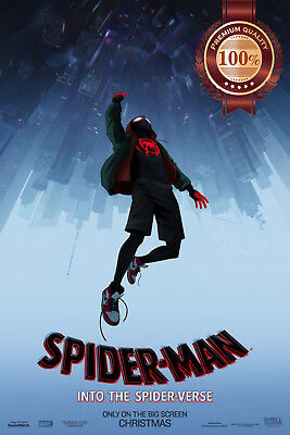 New Spider-Man Into The Spider-Verse Official Movie Film Print Premium Poster