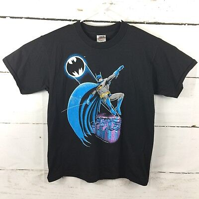 Batman 1988 DC Comics Mens XL Large Oneita Power 50 T Shirt 80s Vintage Rare USA