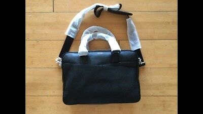 BRAND NEW American Airlines Black Cole Haan Male Crew Bag