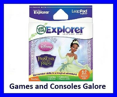NEW RARE! Leap Pad, LeapPad Game Princess and & the Frog Leapfrog