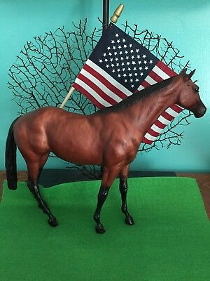 VINTAGE BREYER TOUCH OF CLASS HORSE BAY W/BLACK POINTS Horses