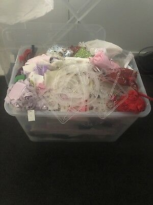 Tub Filled With Ex Children's Wear Shop Stock