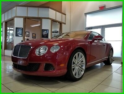 2013 Bentley Continental GT Speed 2013 Speed Used Turbo 6L W12 48V Automatic AWD Premium