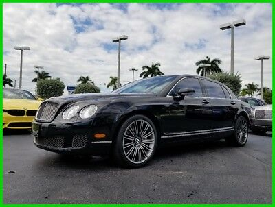 2009 Bentley Continental Flying Spur Speed 2009 Speed Used Turbo 6L W12 60V Automatic AWD Moonroof Premium