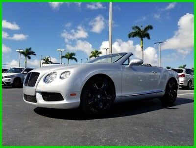 2013 Bentley Continental GT GT V8 Convertible 2013 GT V8 Convertible Used Turbo 4L V8 32V Automatic AWD Premium