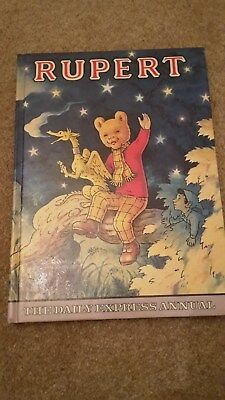 Vintage Rupert the Bear Daily Express Annual from 1979