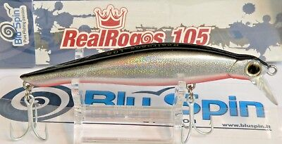 RR114 COLOR NEW BY BLUSPIN JERK BAIT REAL ROGOS 105 17g 105mm SINKING