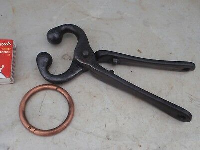 Stud  cattle  Nose pliers & Copper  Nose ring