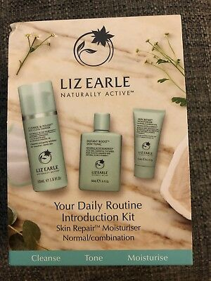 Liz Earle Your Daily Routine Introduction Kit ~ Normal / Comb 💕Xmas Present 💝