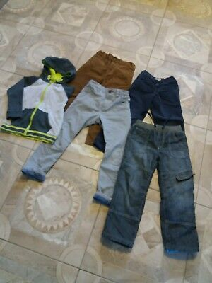 Boys 5-6years Bundle Trousers Jeans Chinos Hoody